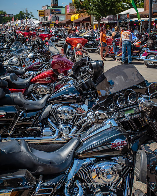 Images from Sturgis Motorcycle Rally 2013: Part I Main Street Bike Parade