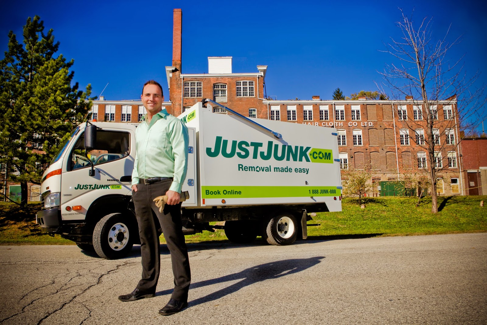 JUST JUNK CEO Mike Thorne