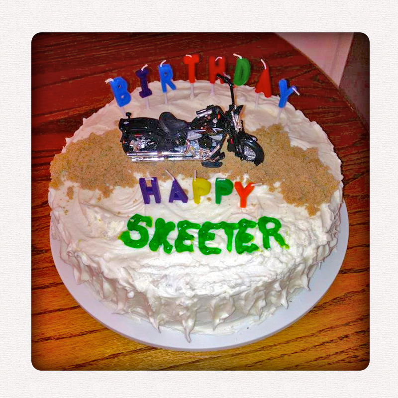 Images Of Birthday Cake For Uncle : MegaSeth: Happy Birthday Uncle Skeeter!