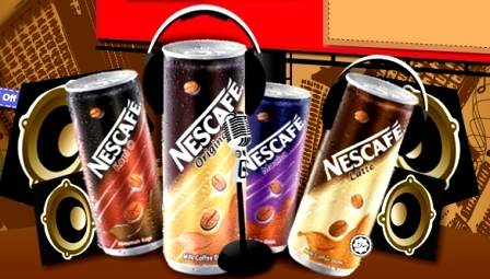 Nescafe Chillah, Nescafe Contest, Nescafe Latte, Nescafe Mocha, Nescafe Original