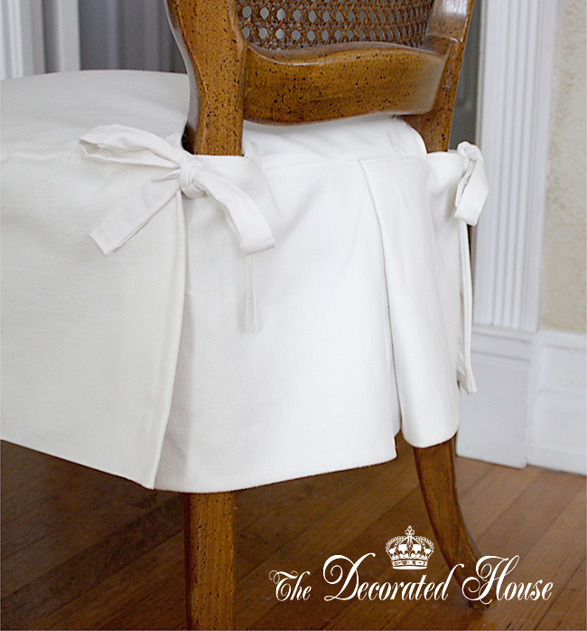 The Decorated House ~ Slipcover Ideas