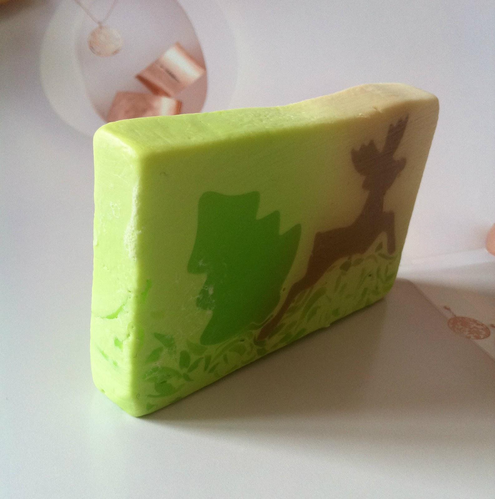 Mydło organiczne z naturalnymi ekstraktami Zielona Herbata i Bambus od Tso Moriri