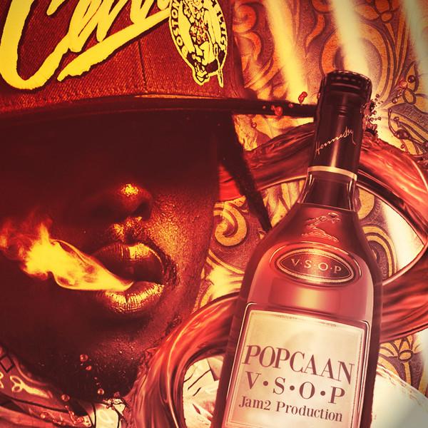 Popcaan - V.S.O.P - Single Cover