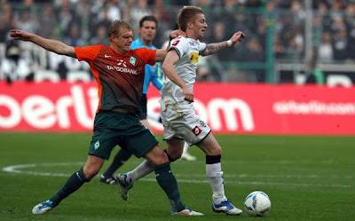Monchengladbach 5 - 0 Werder Bremen (3)