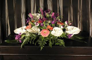 Flores para ceremonias fúnebres
