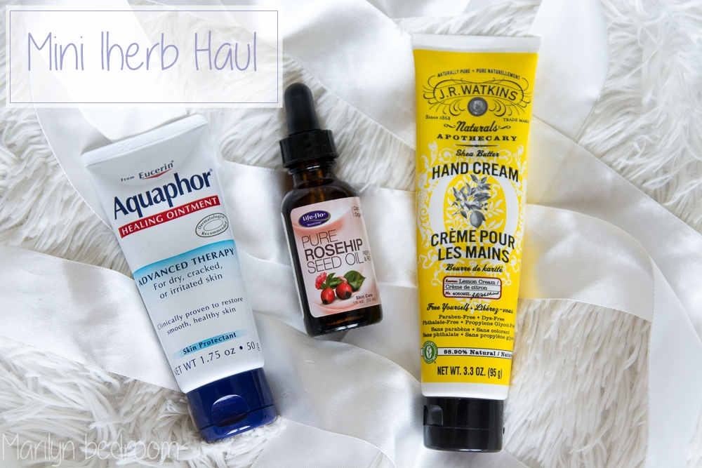 Mini haul& review Iherb