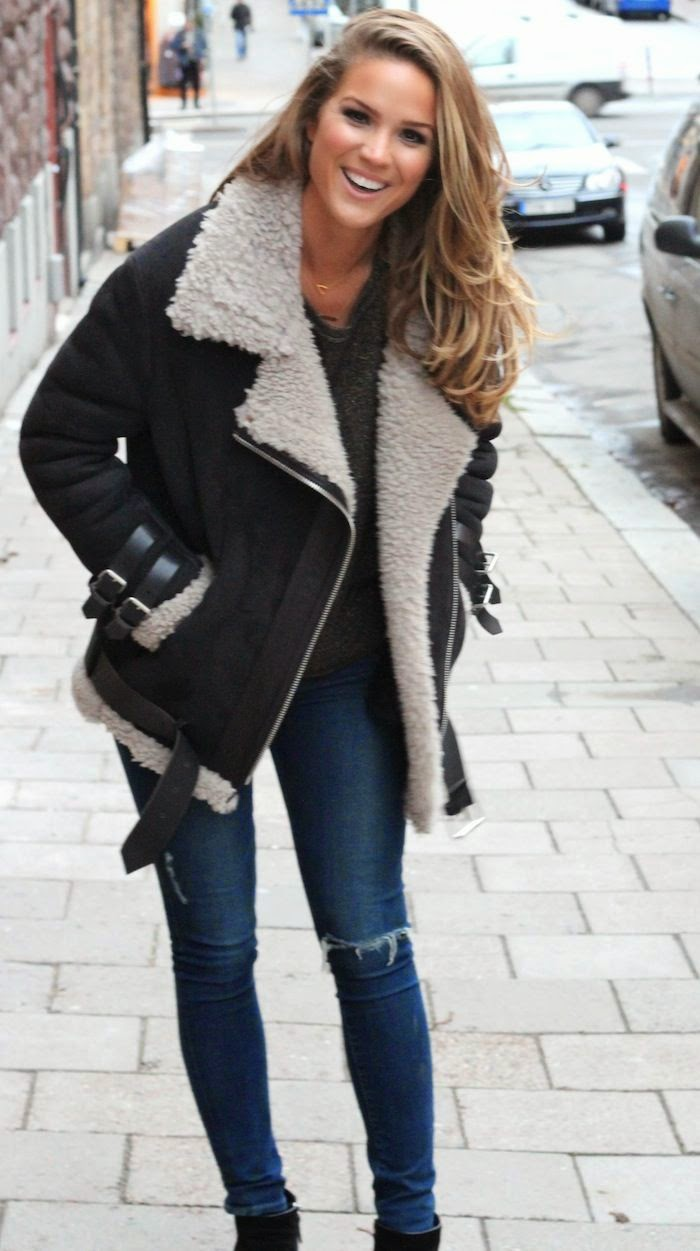 Trending How To Wear A Shearling Jacket Fitzroy Boutique