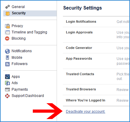How To Delete Facebook Account - 24.6KB