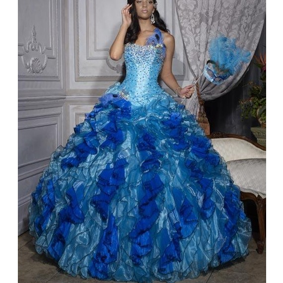 Wedding Dresses In Royal Blue : Wedding dress a blue is traditional for russian
