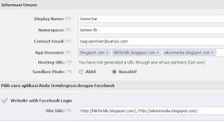 Cara Mendapatkan Notifikasi Dari Komentar Facebook di Blog
