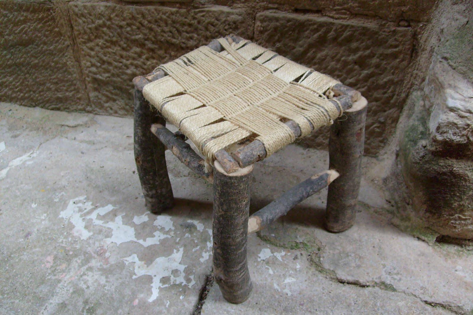 muebles de antes: BANQUETA DE OLIVO