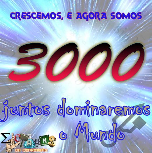 3000 Likes \o/