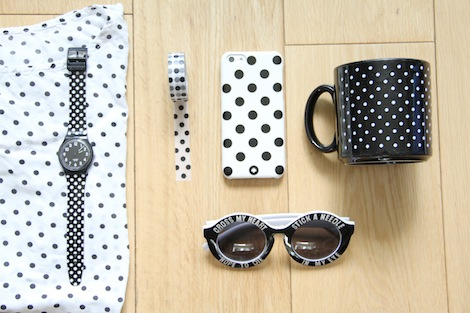 polka dot items