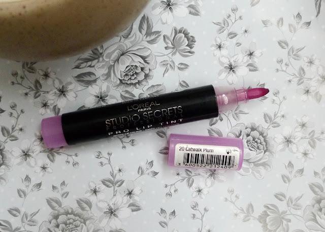 L'Oreal Studio Secrets Professional Pro Lip Tint  felt pen makeup lipstick