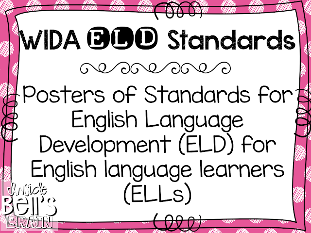 https://www.teacherspayteachers.com/Product/WIDA-ELD-Standards-for-English-language-learners-FREEBIE-1551397