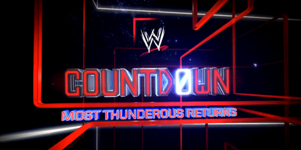 WWE Network's Countdown: Most Thunderous Returns 7/8/14