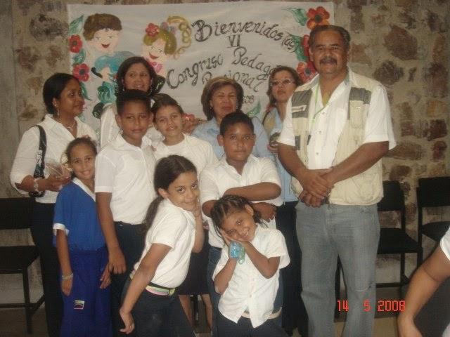 PRIMER CONGRESO REGIONAL DE ESCUELAS BOLIVARIANAS CON ESTUDIANTES DE GARMENDIA ESTEREO
