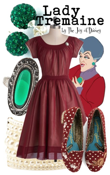 Lady Tremaine, Cinderella Clothes, Disney Fashion Blog