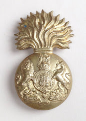 The Royal Scots Fusiliers Regiment Cap Badge