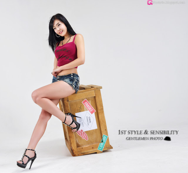 5 Yook Ji Hye - Your Package Just Arrived-Very cute asian girl - girlcute4u.blogspot.com