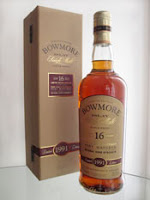 bowmore 16 years old port matured
