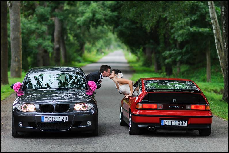 autobiliai per vestuves