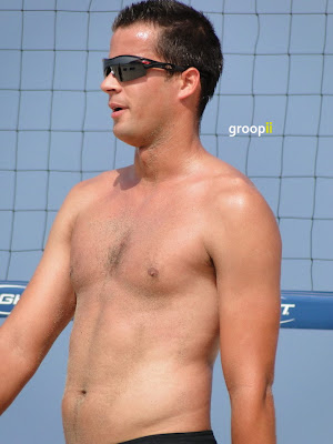 Daniel Dalanhese Shirtless at the NVL Malibu 2011