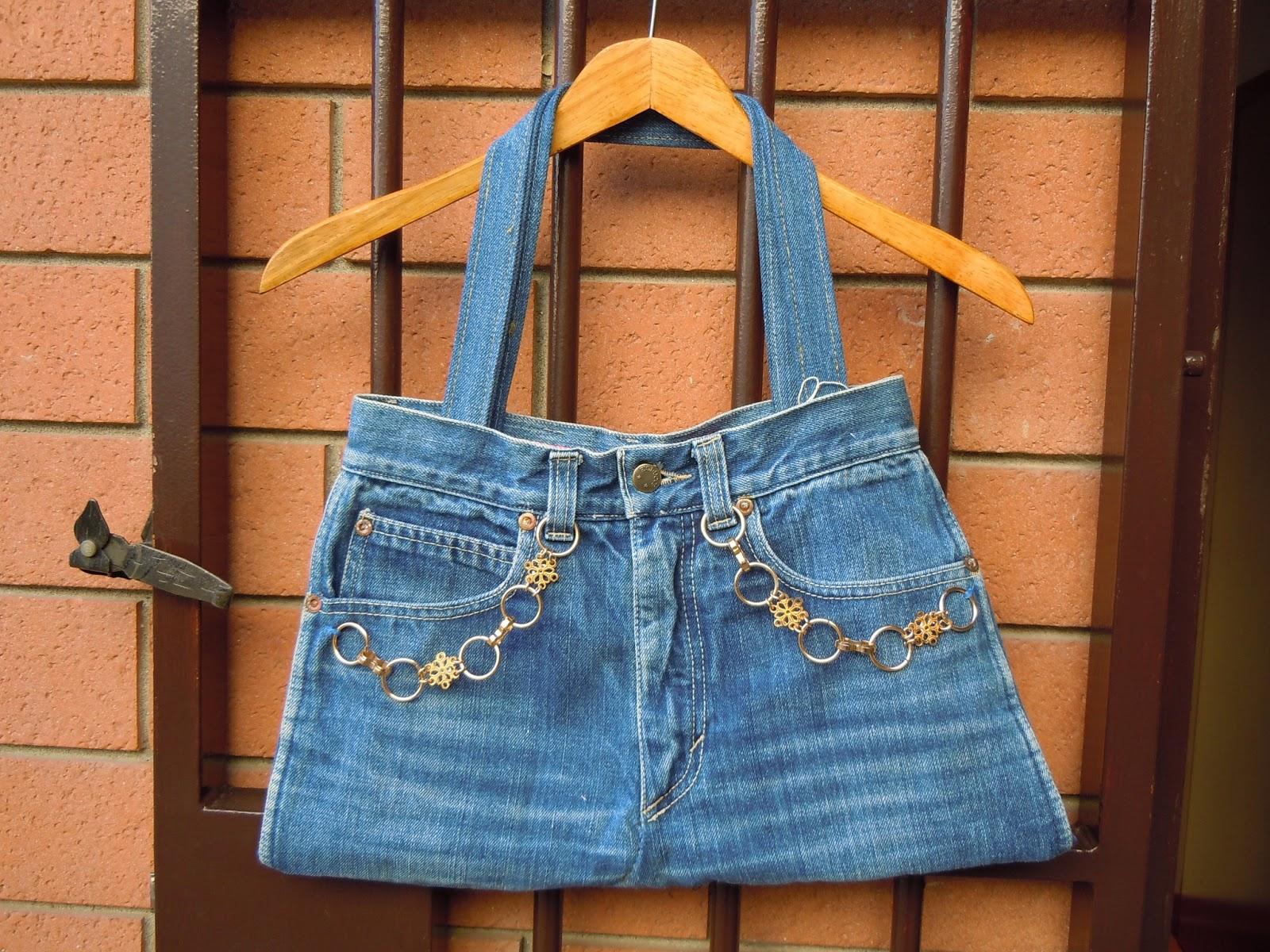 Borse Fatte A Mano Con I Jeans : Soul food to go borse di jeans fatte con i
