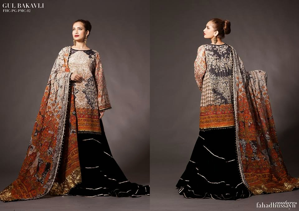 Fahad Hussayn Bridal Wear Dresses 2014-15