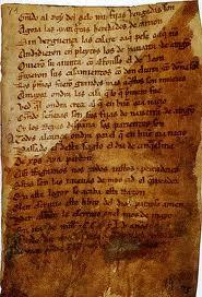 Manuscrito del Poema de Mio Cid