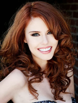 modern red hair styles