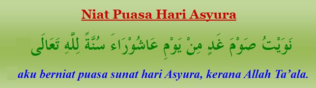 Bacaan Niat Puasa Hari Asyura 10 Muharram