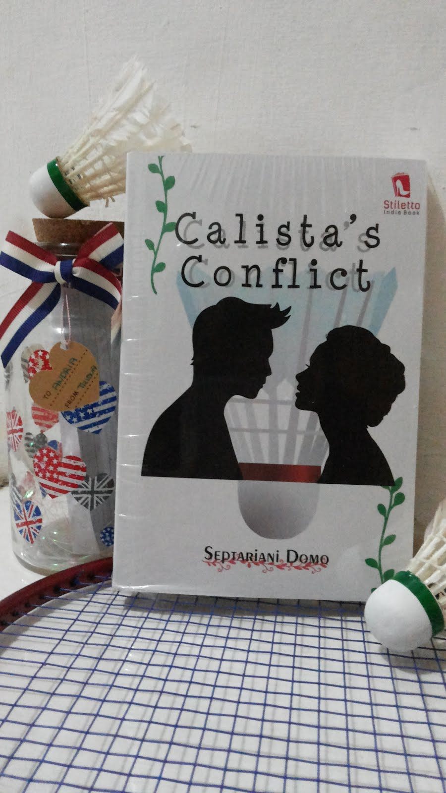 My First Novel ~CALISTA'S CONFLICT by Septariani Domo/Senorita Septy