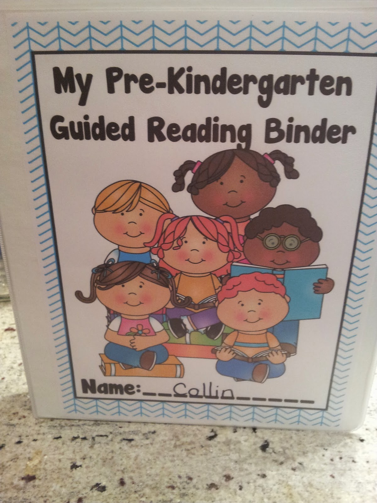 Worksheet Prek Reading the crazy pre k classroom individual guided reading binders how to kick start your groups