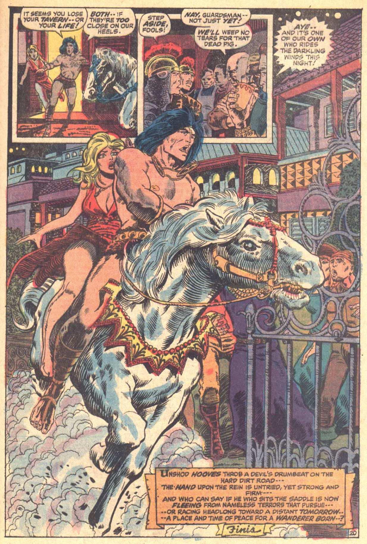 Conan the Barbarian (1970) Issue #8 #20 - English 21
