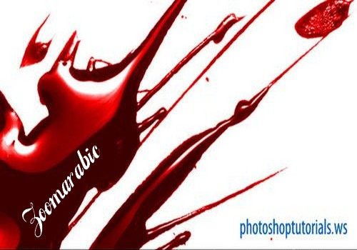 Download Blood Splatter For Photoshop