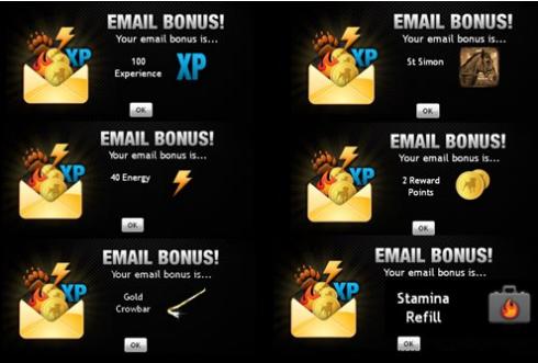 10 bonus in social networks