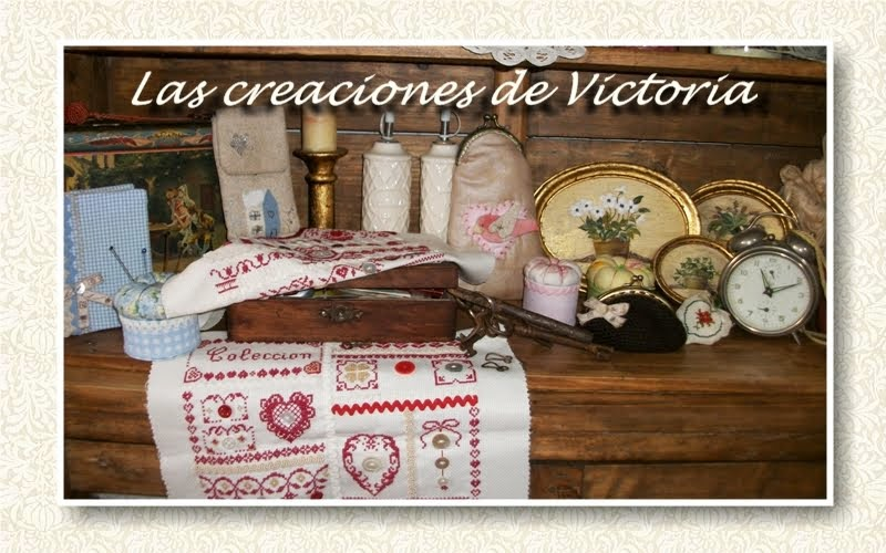 Las creaciones de Victoria