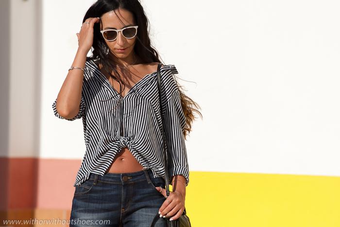 Blogger de moda de vacaciones en el Algarve