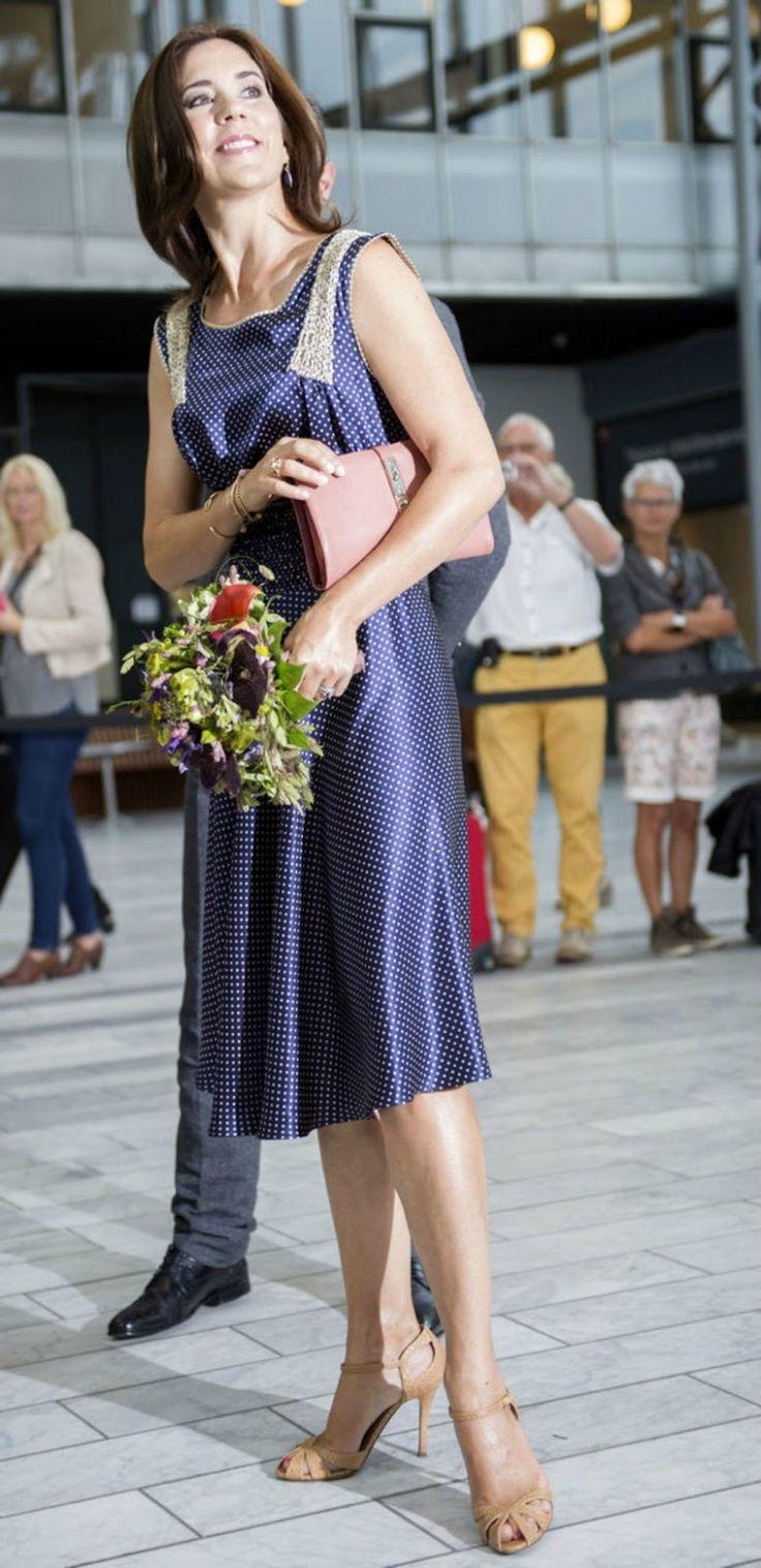 Crown Princess Mary Visit The Copenhagen International
