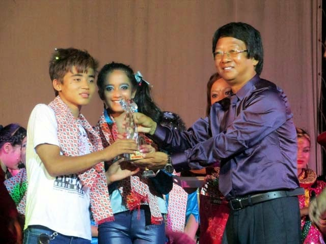 Dance Kalimpong Dance Competition joint winner Khusi Jindal, Bijay Chettri