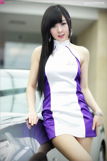 4 Hwang Mi Hee - Infiniti G Racing Limited Edition-very cute asian girl-girlcute4u.blogspot.com