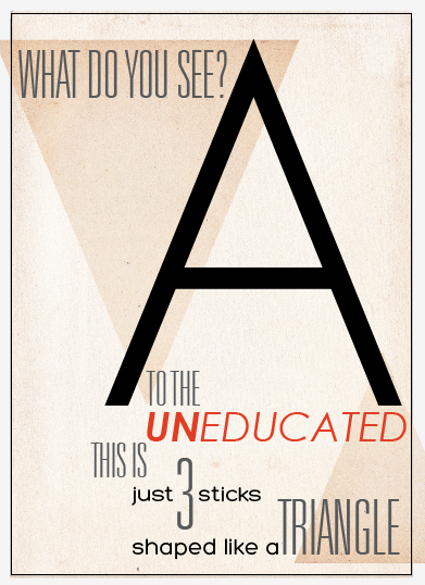 Summer Blog: Brief: Poster design for Right to Education