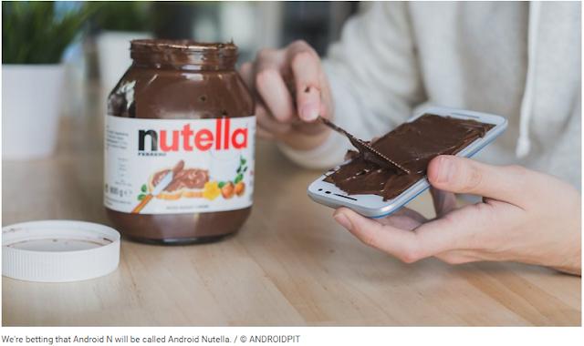 Android N : Apa Yang Kita Tahu Dan Ingin Kita Lihat Android Nutella