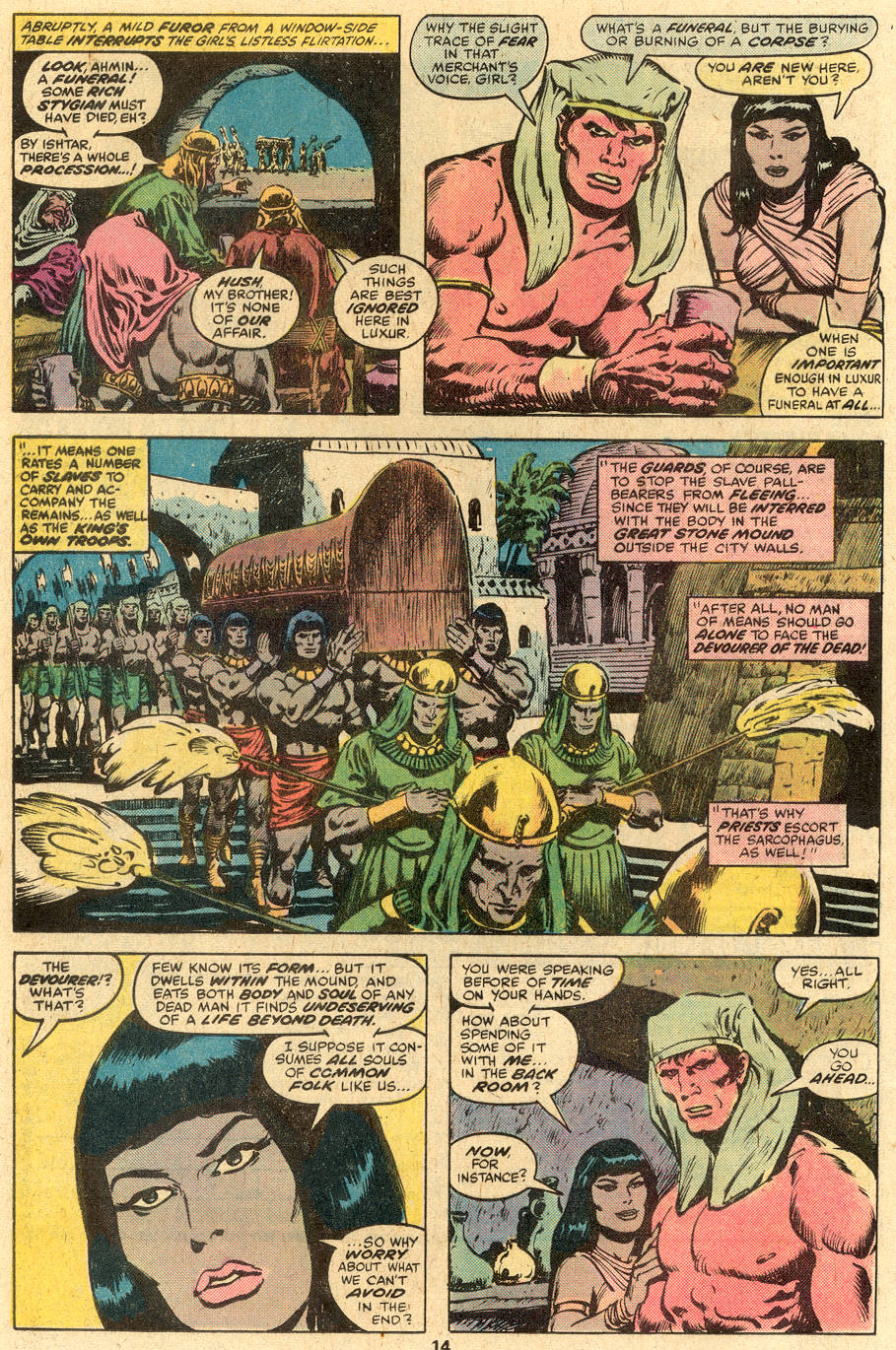 Conan the Barbarian (1970) Issue #86 #98 - English 8
