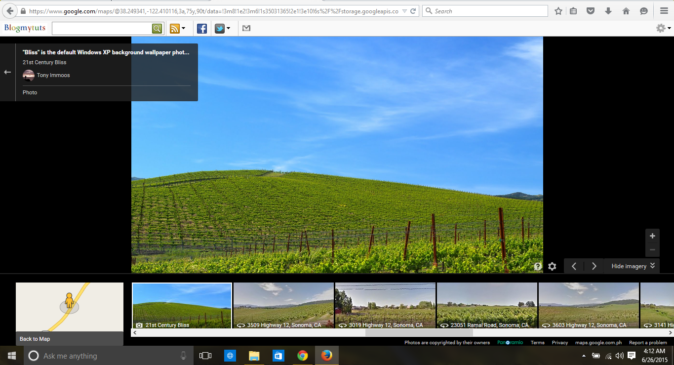What The Famous Windows XP Bliss Site Looks Like Today Gadgets - Us counties coordinates