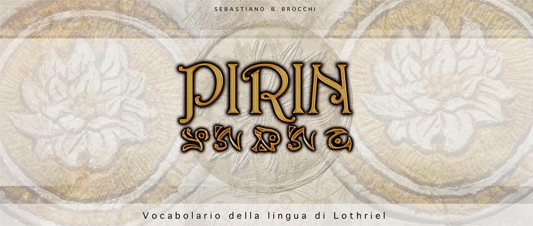 Vocabolario della lingua Pirin