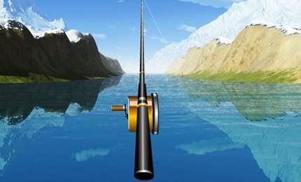 لعبة الصيد المجسمة River Fishing 3d اون لاين