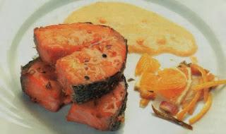 Receta Salmon a la Naranja