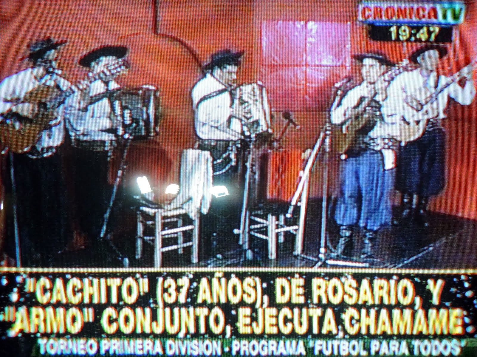Cachito Gonzalez en Cronica TV